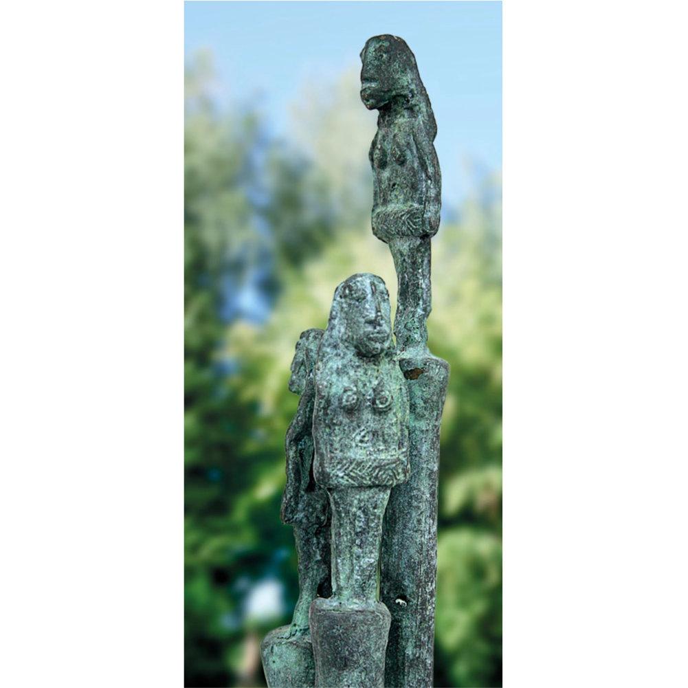 Skulptur Garten Miguel Sanoja Bildhauerei Shopde