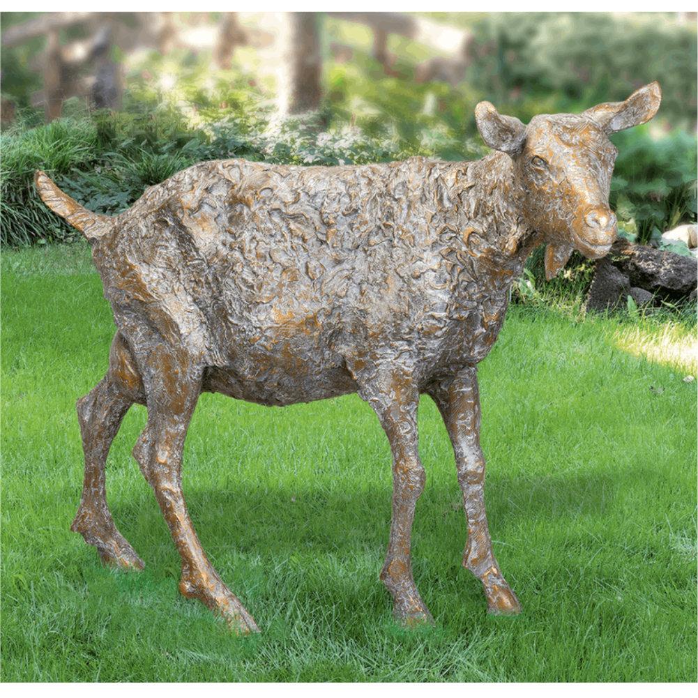 Skulptur Für Den Garten Ziege Von Zilly Bildhauerei Shopde
