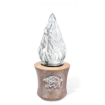 LED-Standleuchte »Rose« Bronze