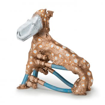 Skulptur »Dog Machine« Heinz Morszoeck